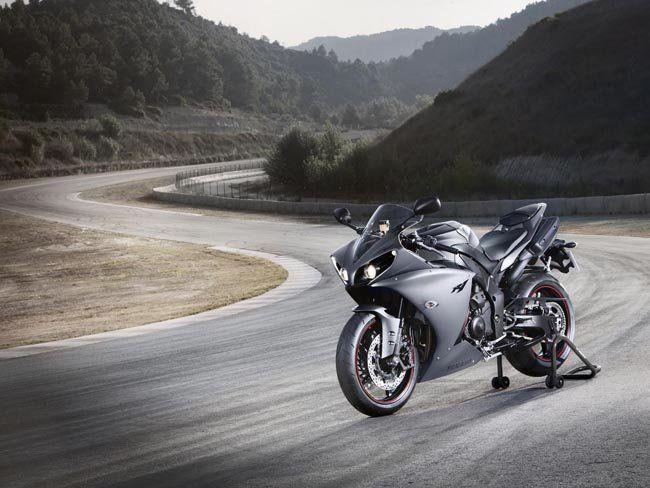 I like the motorbike, I like the photo...
