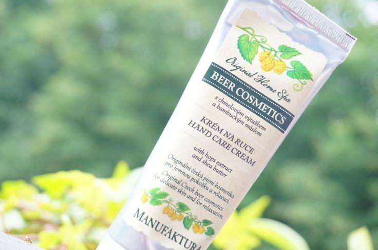 Une crème pour les mains à la bière par Manufaktura Cosmetics