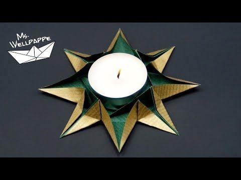 Süßes Nikolaus Origami DIY   Super niedliches Origami für den Nikolaus Tag   Weihnachtsmann - YouTube
