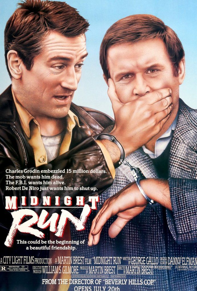"Midnight Run (1988) Original Half-Subway Movie Poster - 30"" x 45"""