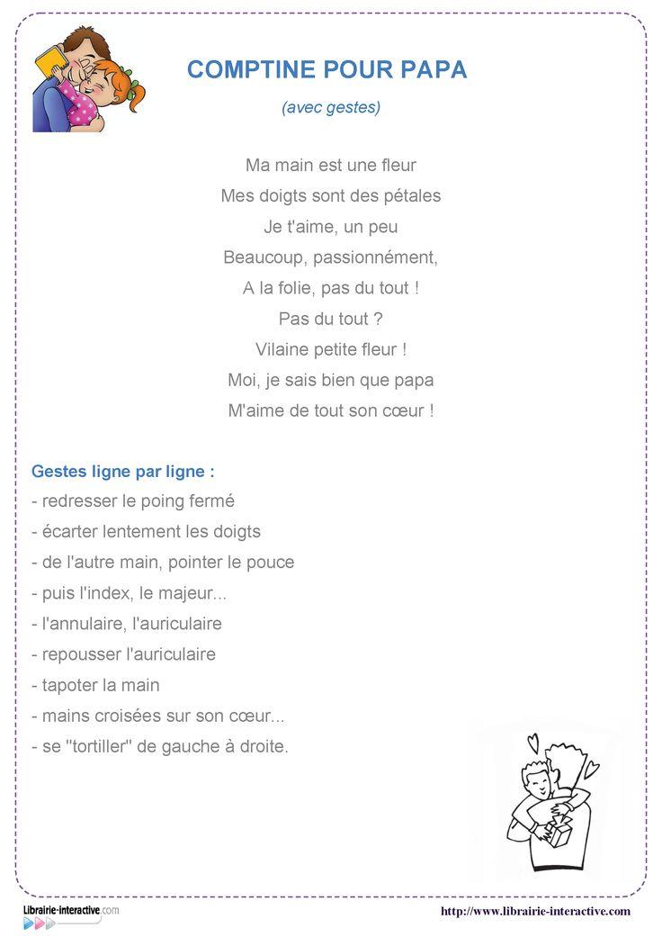 12 poésies illustrées sur le thème de la fête des pères, pour les élèves de cycle 2 et de cycle 3.