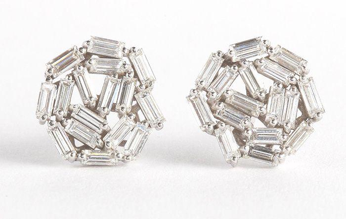 Stud earrings by Suzanne Kalan
