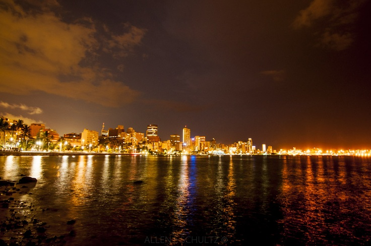 Durban by night | ALLEN E SCHULTZ PHOTOGRAPHY