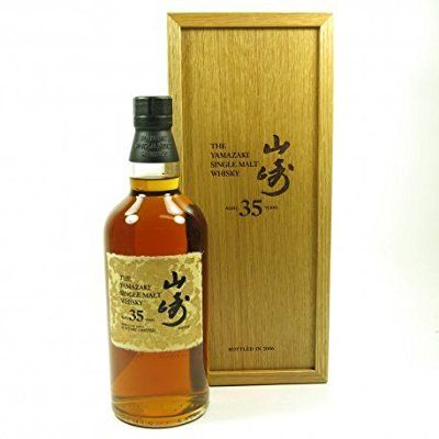 The Yamazaki 35 Year Old Japanease Single Malt Whisky 70cl
