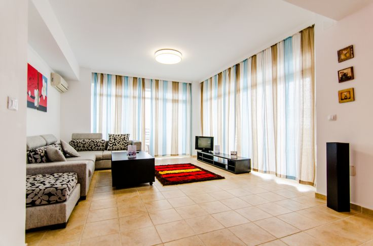 One bedroom apartment living room - Phoenicia Holiday Resort. North Mamaia, Constanta, Romania