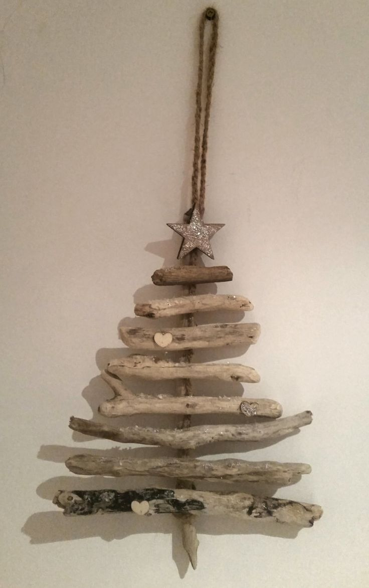Driftwood christmas tree by ContemporaryRustics on Etsy