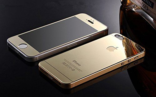 9 Tribals Iphone 5 (iphone 5S iphone 5C) Screen Protector, Front+back Mirror Tempered Glass Film Screen Protector Cover for Iphone 5 Iphone 5S Iphone 5C [2-pack][crystal Clear] (Gold) 9 Tribals http://www.amazon.com/dp/B011DU5L8Q/ref=cm_sw_r_pi_dp_NZN8vb1TGCFAA