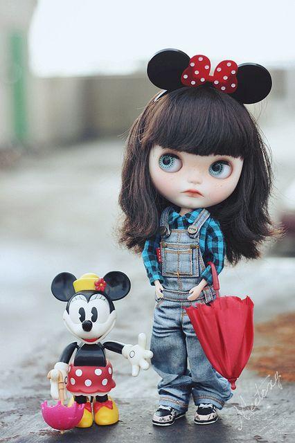 Disney x Blythe. Curated by Suburban Fandom, NYC Tri-State Fan Events: http://yonkersfun.com/category/fandom/