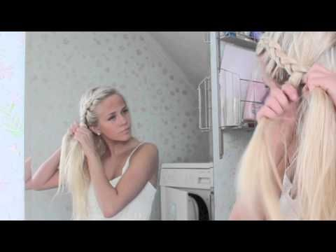 http://www.annais.blogg.no - Hårvideo - flette - YouTube