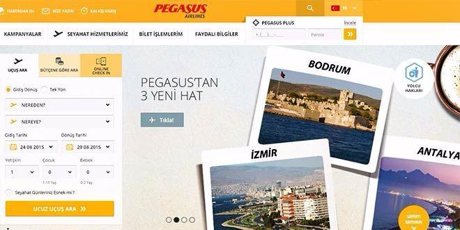 Pegasus web sitesini yeniledi. Pegasus Hava Yolları müşterilerine daha sağlıklı hizmet sunabilmek ad...