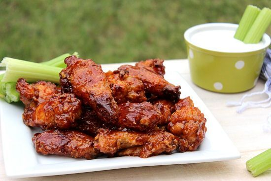 About 5 minutes before the wings should come out of the oven start making the Honey BBQ sauce. Description from bigbearswife.com. I searched for this on bing.com/images