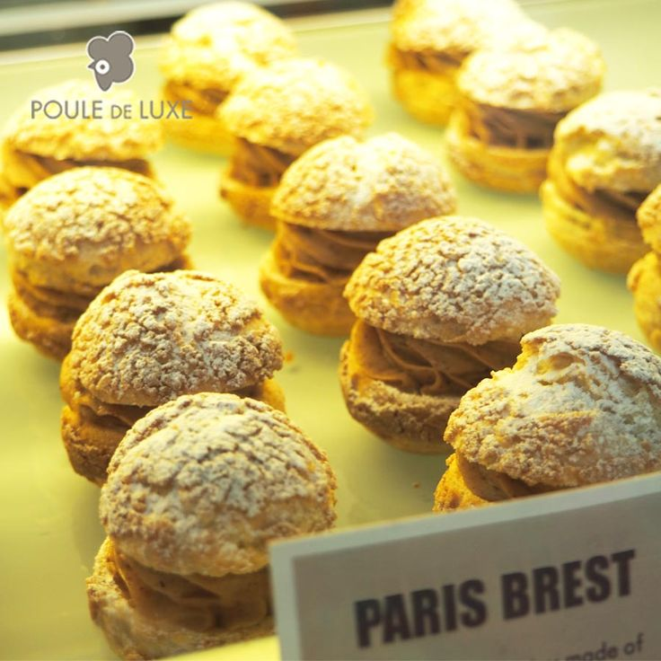 Don't forget the 2 flavors of the week : PARIS-BREST & LYCHEE  Our french typical Paris Brest is available from Friday to Sunday every week. And the Lychee cream puff is only available one week until next Wednesday. So hurry up ;-) Bisous bisous - Kiss Kiss - Cium Cium