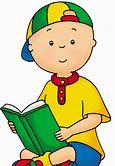 Image result for caillou misses sarah