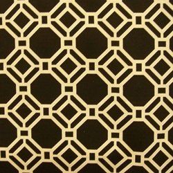 Outdoor fabrics Rossmere/Terrace Black Contemporary Outdoor Fabric by Swavelle - Discount Fabrics