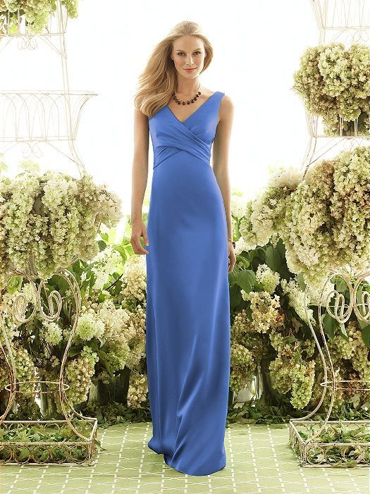 cornflower blue bridesmaid dress - Google Search                              …