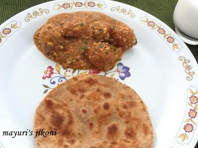 paneer lauki kofta curry (cottage cheese and bottle gourd kofta curry)