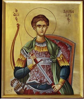 St. Demetrios (patron saint of Thessaloniki, Greece)