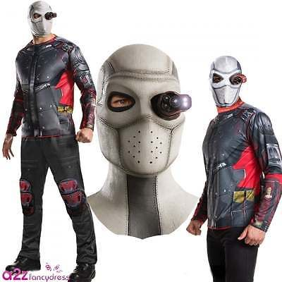 New #suicide #squad deadshot mask mens adult halloween fancy dress #costume outfi,  View more on the LINK: http://www.zeppy.io/product/gb/2/112166928630/