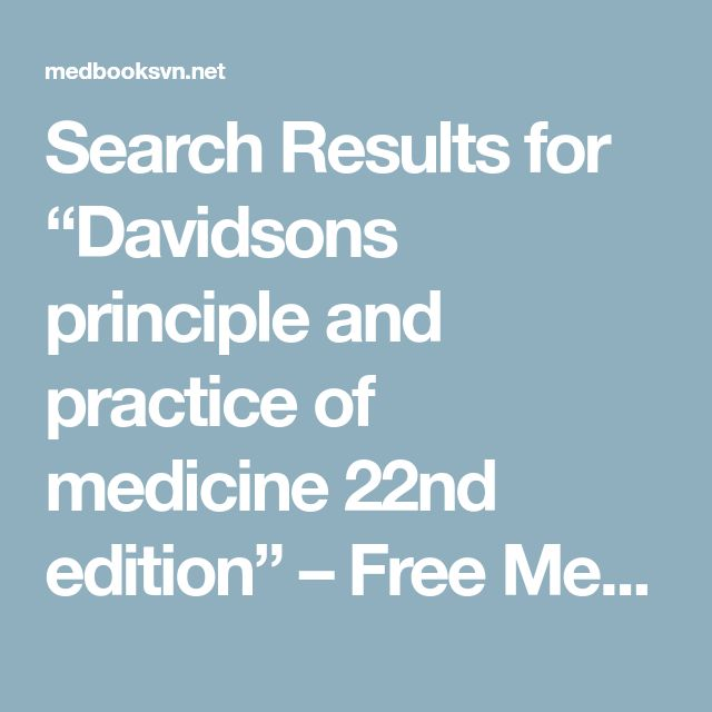 """Search Results for """"Davidsons principle and practice of medicine 22nd edition"""" – Free Medical Books"""