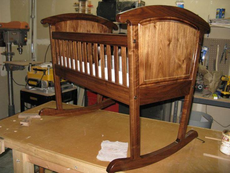 93 best cradles and bassinettes images on Pinterest Woodworking - babywiege aus holz lulu nanna ditzel
