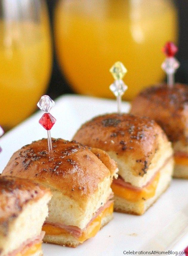 mini party sandwiches