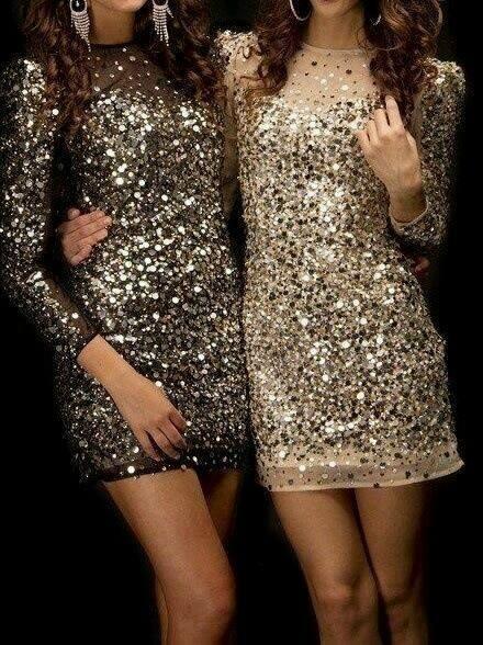 Outfits glitter para ir al antro o de fiesta