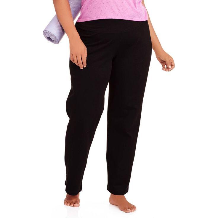 Danskin Now Women39s Plus Size Yoga Pant Walmart Plus Size Yoga Pants