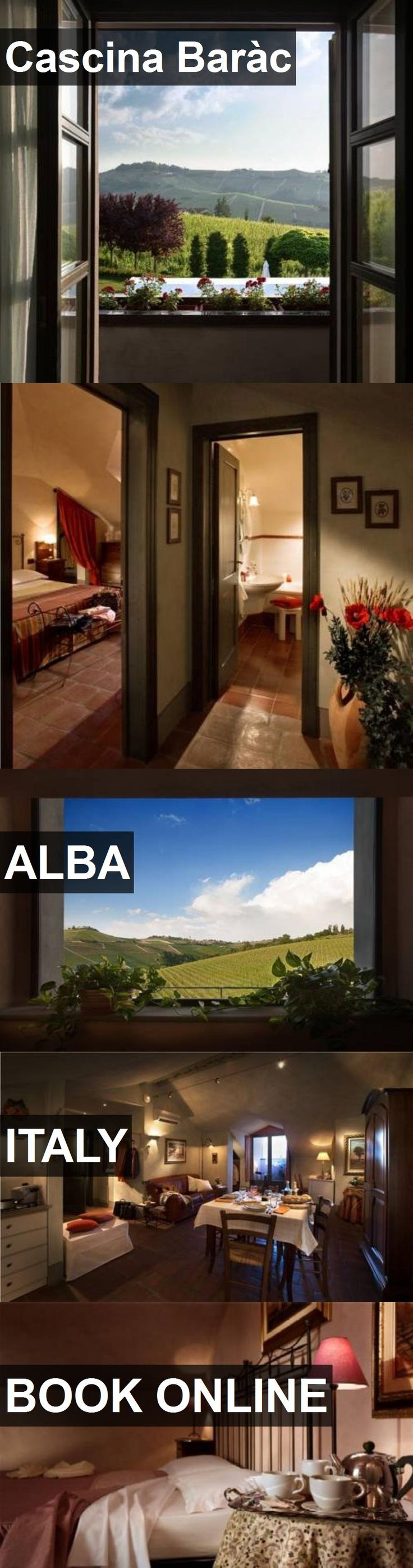 Hotel Cascina Baràc in Alba, Italy. For more information, photos, reviews and best prices please follow the link. #Italy #Alba #CascinaBaràc #hotel #travel #vacation