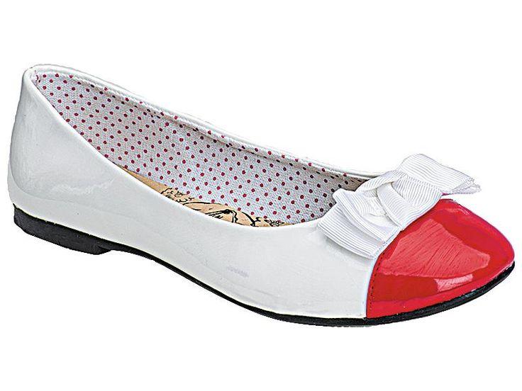 Купить красные детские туфли