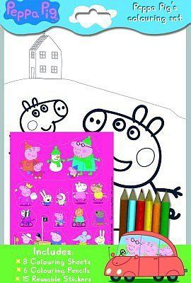 Black Friday 2014 The Range Peppa Pigs Colouring Set From Alligator Books Cyber Monday Specials On Season Most Wanted Christmas Gifts