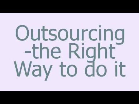 How to Get Great Results From Outsourcing - Accounting Outsourcing