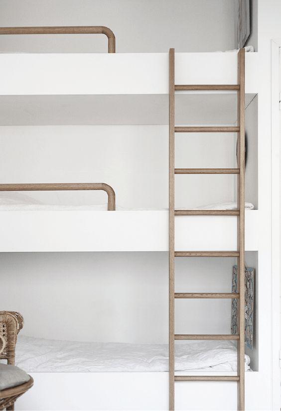 excellent juadore ces jolis lits superposs en bois ces lits superposs trs simples pour with lit. Black Bedroom Furniture Sets. Home Design Ideas