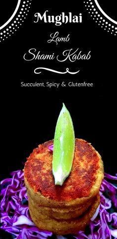 Mughlai Lamb Shami Kebabs is a succulent, spicy, melt in your mouth kebabs. #recipe #mughlai #kebabs #shamikebabs #indian #lamb