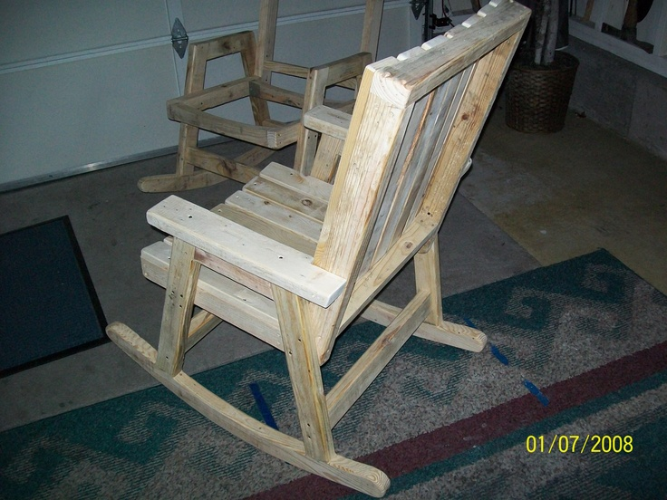 Rocking Chairs Pallet Rockers Rocking Chair Plans