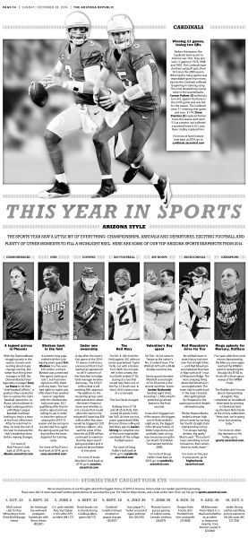 This year in sports #Newspaper #GraphicDesign #Layout