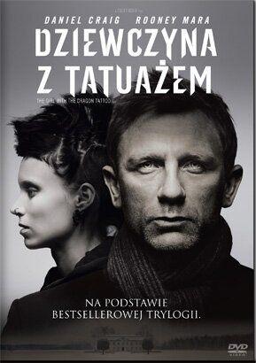 """""""Dziewczyna z tatuażem"""" (""""The girl with the dragon tattoo""""), reż. David Fincher; scen. Steven Zaillian, na podstawie powieści Stiega Larssona """"Mężczyźni, którzy nienawidzą kobiet"""". Obsada: Daniel Craig, Rooney Mara, Christopher Plummer. 152 min."""