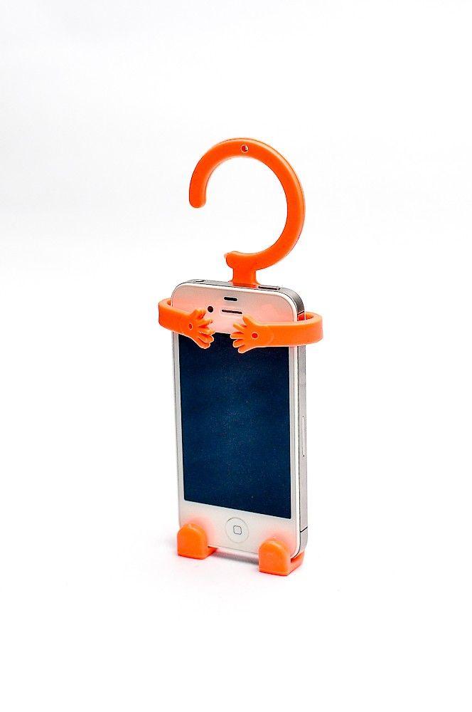 Hug Me Cellphone Holder Orange RP 45.000