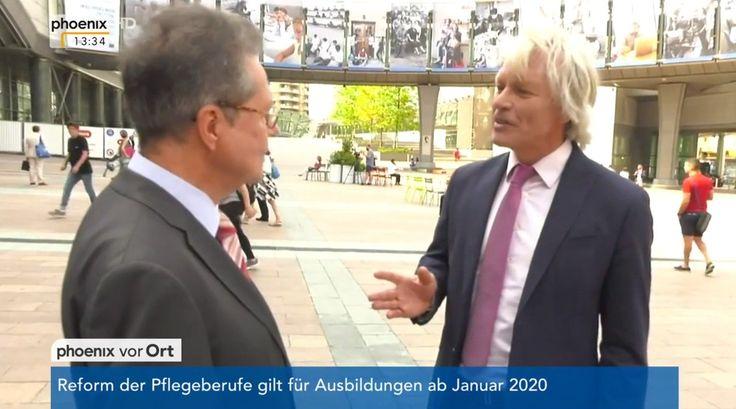 Phoenix-Korrespondent Jan-Christoph Nüse im Interview mit Prof. Dr. Klaus Buchner (Mitglied Unterausschuss für Sicherheit und Verteidigung, MdEP, ÖDP) zur Verteidigungspolitik in der EU.