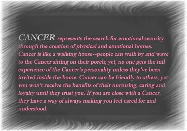 Cancer Horoscope Characteristics Related Keywords & Suggestions ...