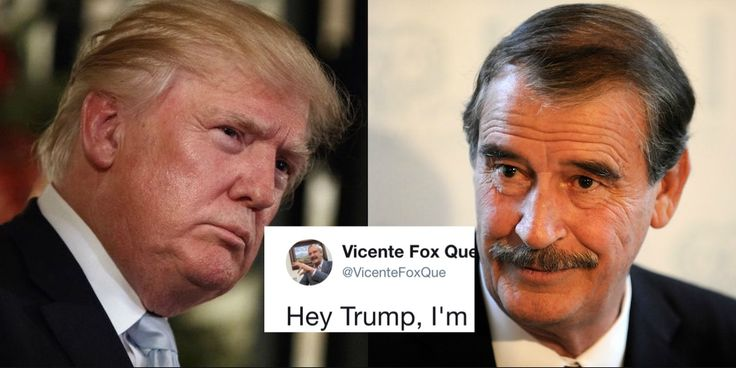 Vicente Fox Just Humiliated Trump Over Scaramucci's Firing  The former Mexican president saw the turmoil at the White House and couldn't help himself.
