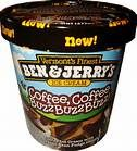 New Ben & Jerry's Coffee Coffee Buzz Buzz Buzz ! After Hagen Daz Vanilla... THIS is my next favorite ice cream. / kj