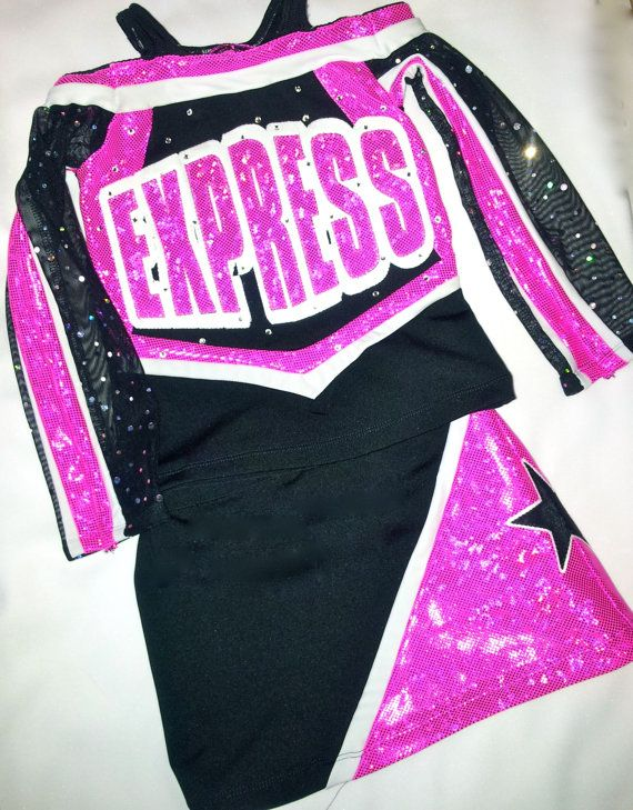 Shattered Glass Custom Cheer Uniform perfect for All Star Comp, Pageant, or Dress Up