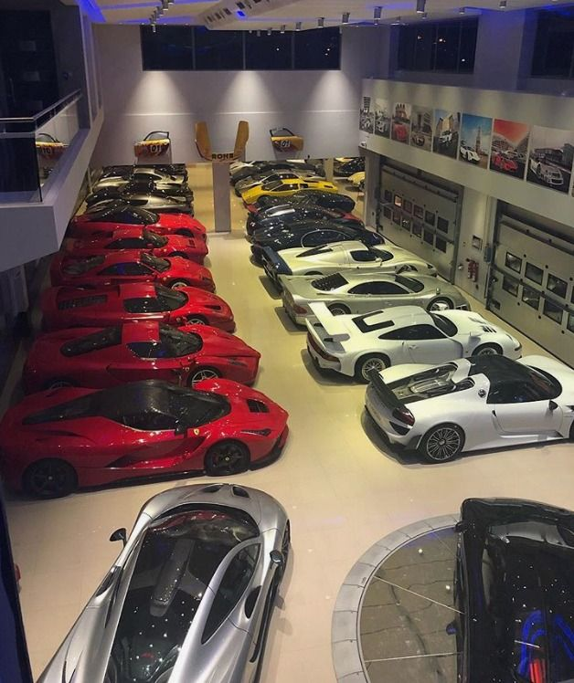 This 130 Million Supercar Collection Will Blow Your Mind Super Cars Luxury Cars Luxury Garage