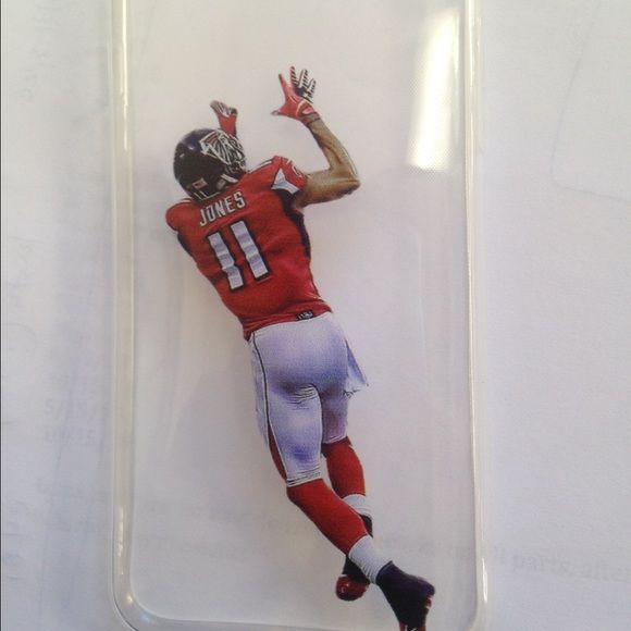 Julio Jones Atlanta Falcons iPhone silicone case New iPhone Falcons Julio Jones silicon case available for 6 and 6+, ships next day Jordan Accessories Phone Cases