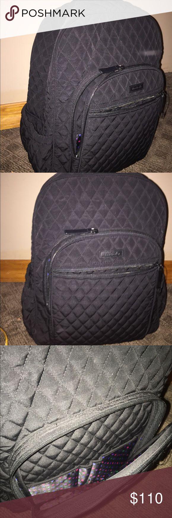 Vera Bradley Bookbag Brand New Book Bag Spacious Great For College