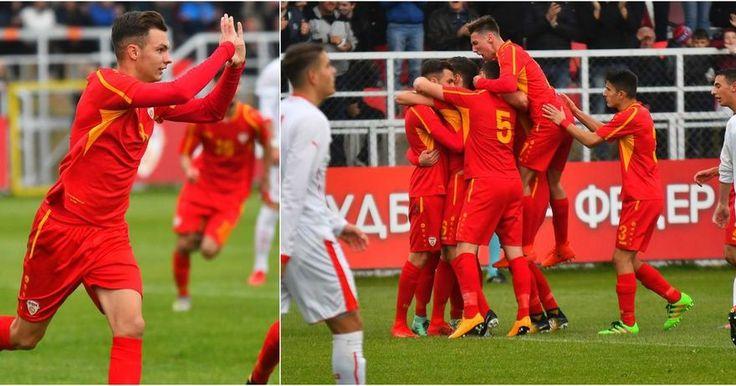 Fußball U19 : Mazedonien besiegt Schweiz in EM Qualifikation