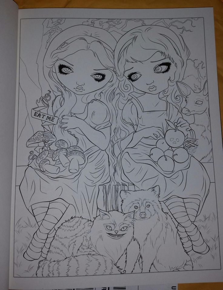 Jasmine Becket Griffith Coloring Book A Fantasy Art Adventure Animal Coloring Pages Halloween Coloring Book Fairy Coloring Pages