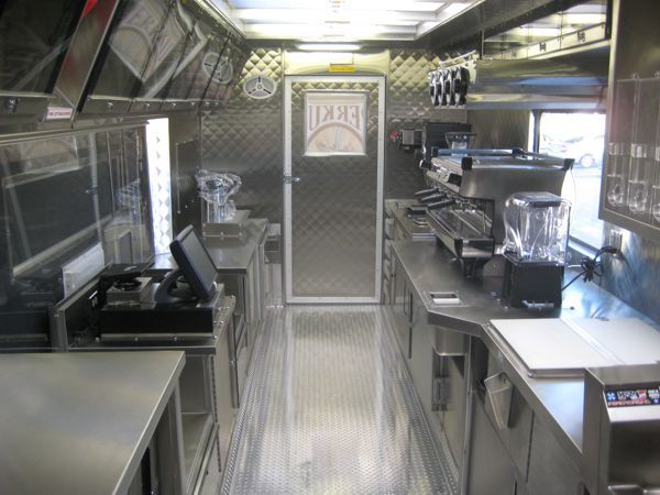 25 best ideas about food truck interior on pinterest for Food truck interior design