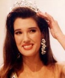 Suzette Van der Merwe, miss South Africa 1990