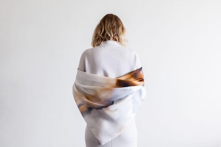 Jaspis silk scarf Series #2